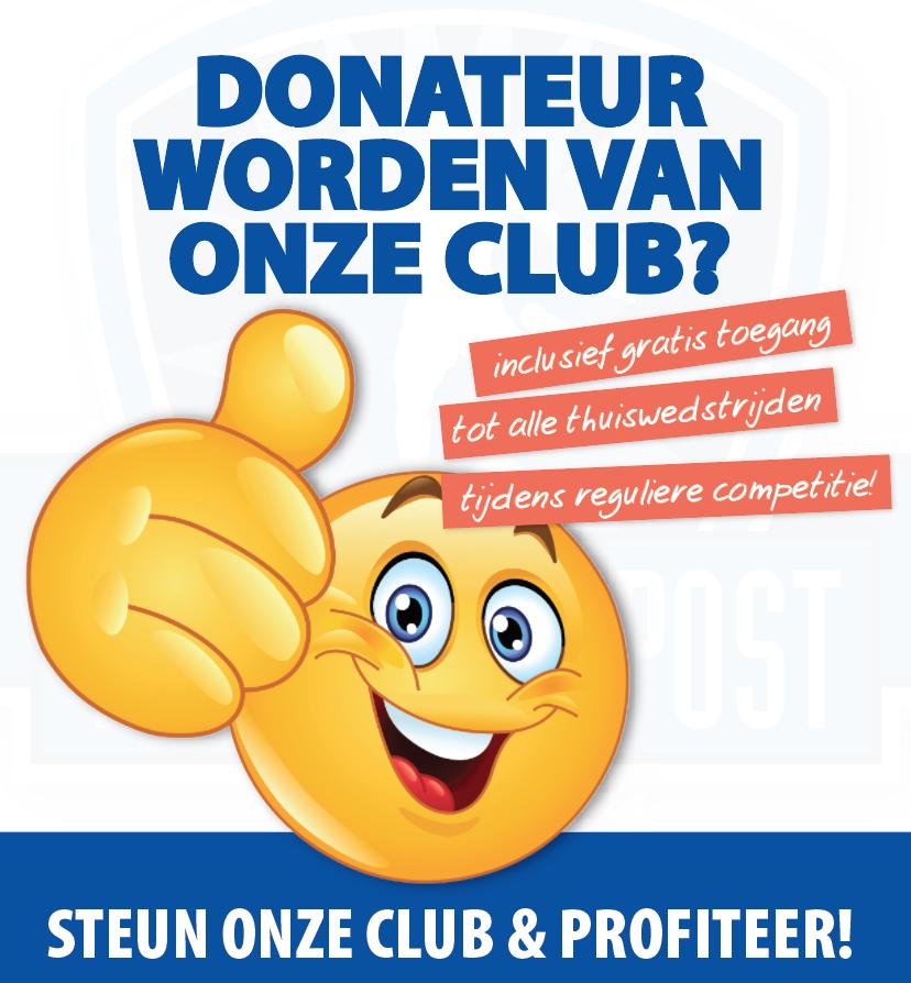 donateur worden van VV Buitenpost