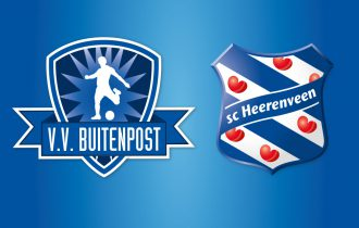 VV Buitenpost zaterdag tegen SC Heerenveen