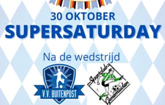 Oktobertfest na wedstrijd Buitenpost – Genemuiden